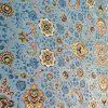 فرش 1200 شانه شاهکار صفویه طرح افشان آبی