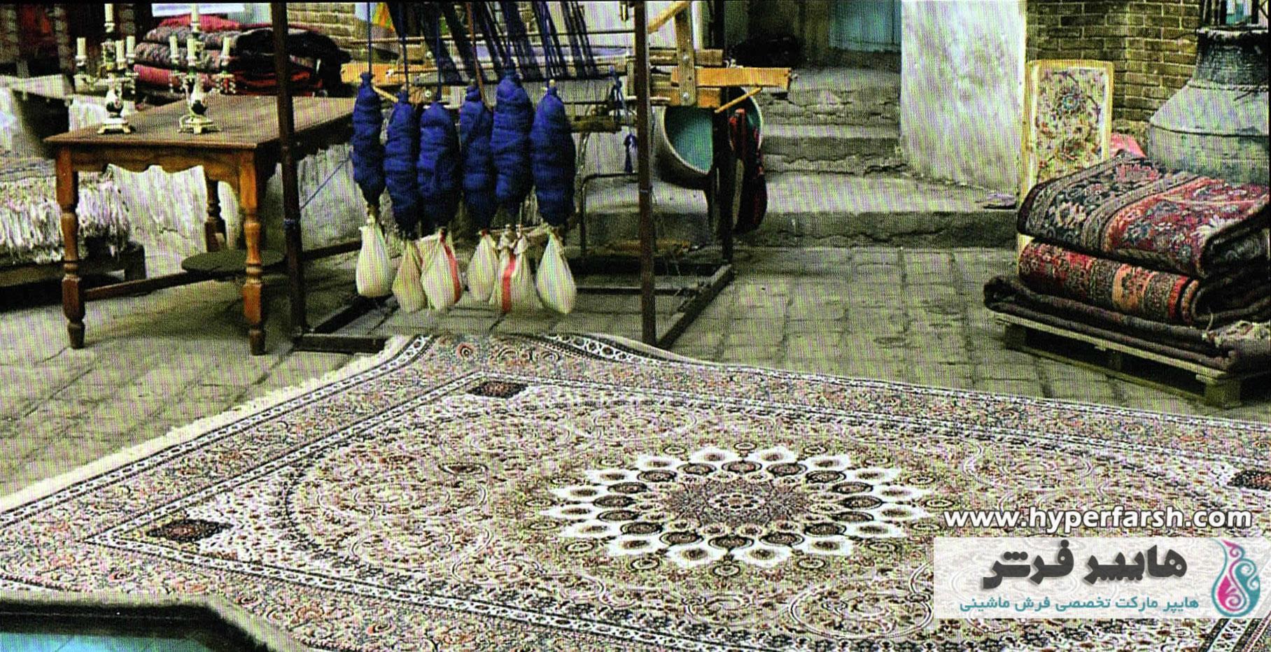 فرش شاهکار صفویه یا فرش ساتراپی