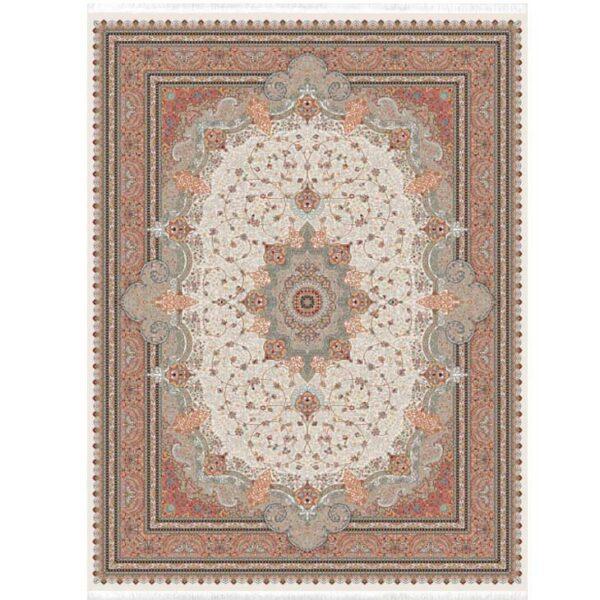 فرش 700 شانه شاهکار زرتشت طرح آناهید کرم کد 1119