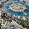 فرش 1000 شانه الماس کویر طرح برکه آبی