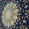 فرش 1200 شانه شاهکار صفویه طرح شبستان سرمه ای