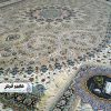 فرش 1200 شانه شاهکار صفوبه طرح منظر