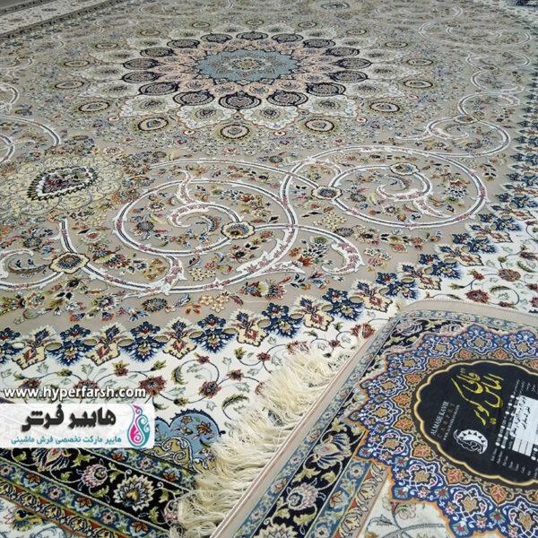 فرش ساتراپی طرح منظر زمینه فیلی