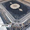 فرش شاهکار صفویه طرح مهرانه سرمه ای کد 4999