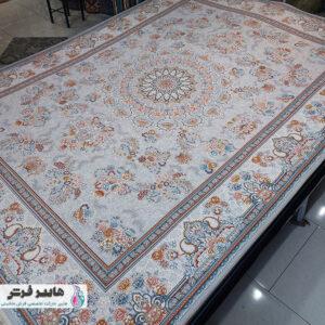 فرش ارزان طرح لچک و ترنج کد ۱۰۱۰