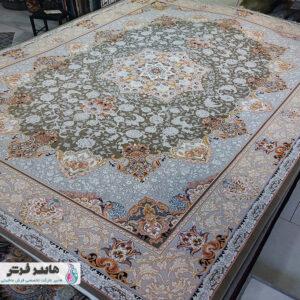 فرش ارزان طرح لچک و ترنج کد ۱۰۲۰