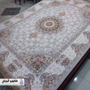 فرش ارزان طرح لچک و ترنج کد ۱۰۲۳